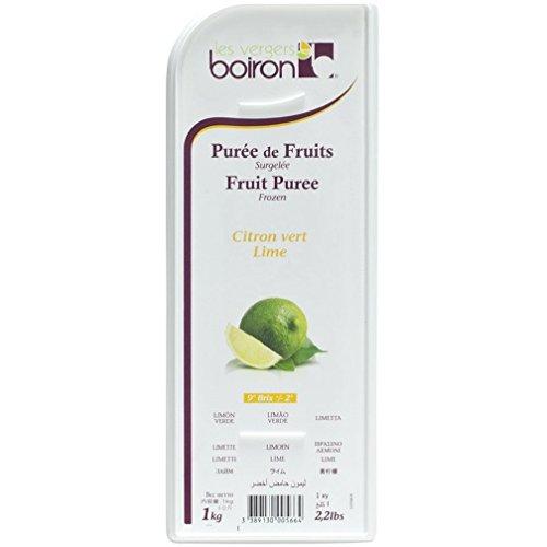 Lime Boiron Fruit Puree - 2.2 Lbs Kosher