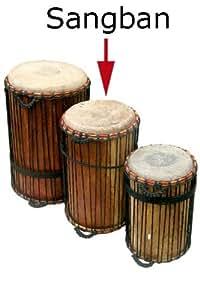 Amazon.com: Ghana Sangban Dunun Drum - 12 X 24 - African ...