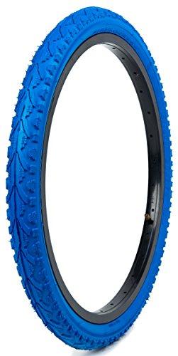Kenda Kwest Commuter/Folding/Recumbent Bicycle Tires, Blue, 20-Inchx1.75