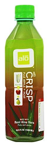 ALO - Original Aloe Drink Aloe Vera + Apple + Pear - 16.9 oz. (Pack of 3)