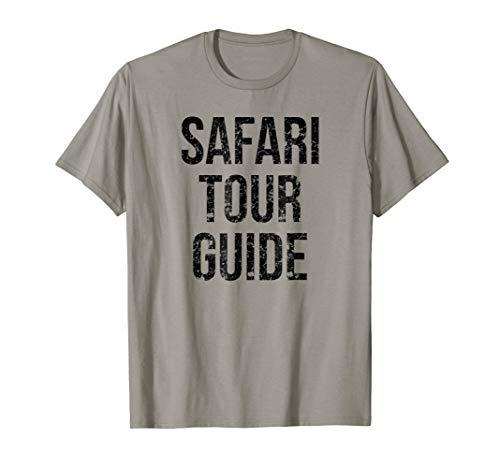 Safari Tour Guide Easy Funny Joke Halloween Costume T-Shirt