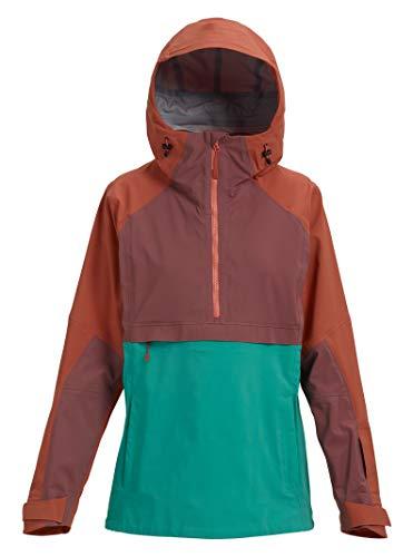 (Burton Women's Ak Gore-Tex Kimmy Anorak Jacket, Hot Sauce/Rose Brown/Spectra,)