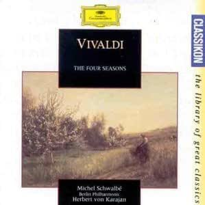 A. Vivaldi - Le Quattro Stagioni Opus 8 by Michel Schwalbe, Thomas Brandis (1994) Audio CD