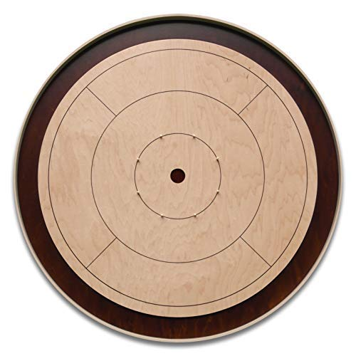 The World Champion - Tournament Size Crokinole Board Game Set