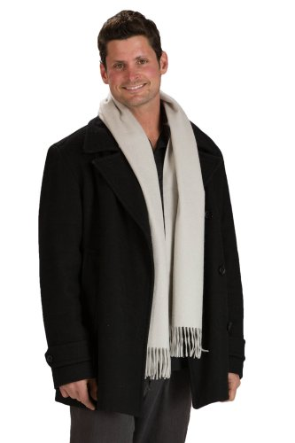 Fishers Finery Mens Cashmere Scarf