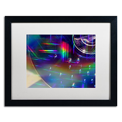 "picture of Trademark Fine Art Rainbow Logistics VI Artwork by Beata Czyzowska Young, 16 x 20"", White Matte/Black Frame"
