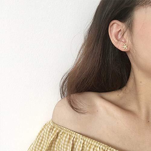 Ahyf Earring Stud Earrings Temperament Personality Simple Wild Mini Asymmetric Earrings