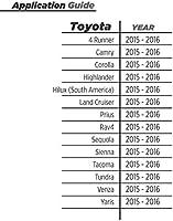 Corolla SCOSCHE CRT-TA02 2015 /& 2016 Toyota 4-Runner Highlander Reverse Camera Retention Wire Harness 24-Pin Camry