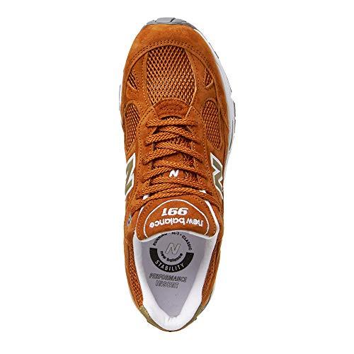 Uomo Balance Nbm991se Sneakers New Se Orange Burnt qw04tzdt