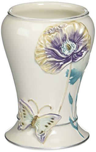 Creative Bath Garden Gate Ceramic Tumbler, Lilac from Creative Bath