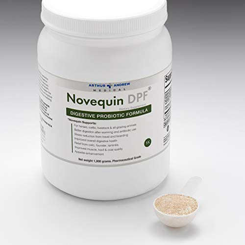 Arthur Andrew Medical - Novequin DPF, Digestive Probiotic Formula for Large Animals, Prebiotics, Probiotics, and Enzymes, Non-GMO, 1000 Grams by Arthur Andrew Medical (Image #2)
