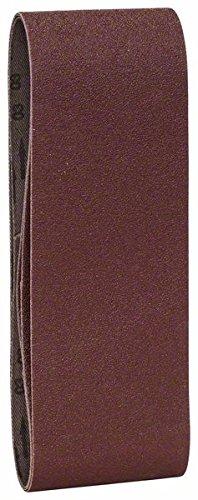 pack de 3 calidad roja Juego de hojas de lija de 3 piezas para lijadora de banda Bosch 2 609 256 203