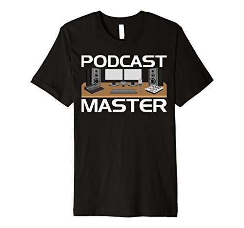 Price comparison product image Podcast App Equipment Mixer Premium Tshirt for Podcasters