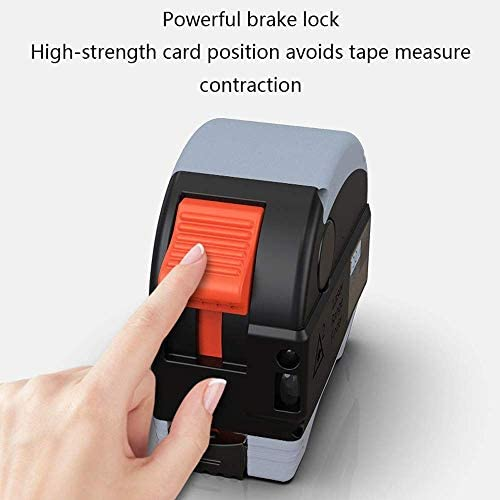 1yess Two-one Tape Measure Range Finder Electronic Ruler Woodworking Instrument Ruler Hand Distance Measurement Instrument Toolbox Ruler Steel Tape Measure 40 Meters Ranging Tape
