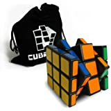 Zauberwürfel 3x3x5 - schwarz - inkl. Cubikon-Tasche