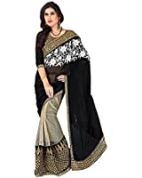 Sarees New Collection Latest Of 2017 Black By Nena Fasion-(Saree Centre Sarees For Women Party Wear Offer Designer Sarees For Women Latest Design Sarees New Collection Saree For Women Saree For Women Party Wear Saree For Women In Latest Saree With Designer Blouse Free Size Beautiful Saree For Women Party Wear Offer Designer Sarees With Blouse Piece)
