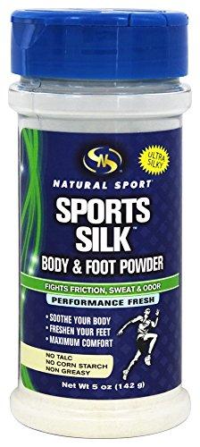 Natural Sport Sports Silk Fine Powder Fresh Supplements, 5 Ounce