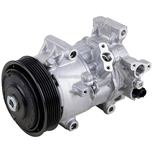 New AC Compressor & A/C Clutch For Toyota Corolla 2014 2015 2016 - BuyAutoParts 60-03681NA New -