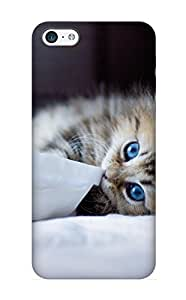 Kathewade New Arrival Aejdpp-2032-qznizny Premium Iphone 5c Case(animal Cat)