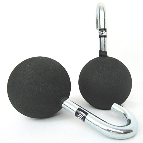 FitBar Ball Grips | Cannonball Grips | Pull Up Bar Grips | Increase Grip and Forearm Strength | Great for Climbers, Ninja Warriors, OCR Racers, and Fitness Enthusiasts