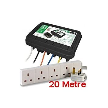 Weatherproof Outdoor Electrical Connection Enclosure Box With 20 ...