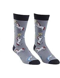 Men's Unicorn Vs. Narwhal Crew Socks