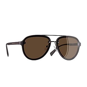 QZHE Gafas de sol Gafas De Sol para Hombre con Gafas De Sol ...