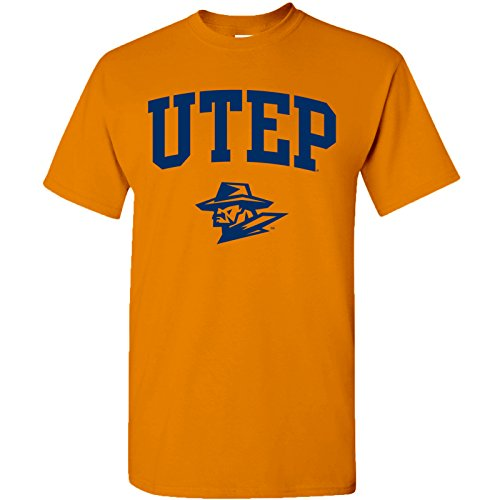 UGP Campus Apparel AS03 - UTEP Miners Arch Logo T-Shirt - Large - ()