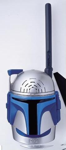 Star Wars Attack of the Clones Walkie Talkies Clone Trooper & Jango Fett by Tiger Electronics (Image #1)