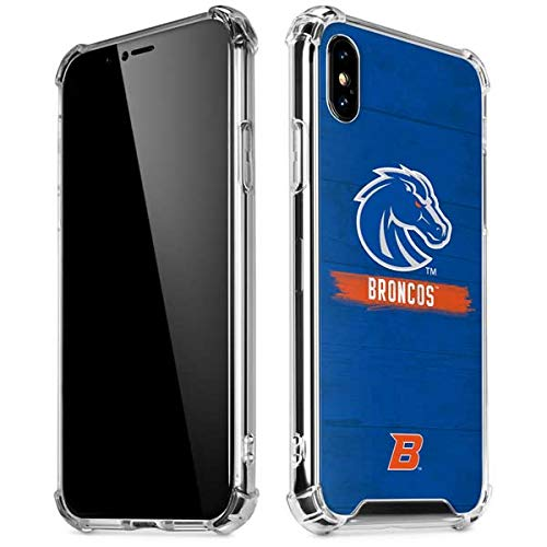 (Skinit Boise State Broncos iPhone XR Clear Case - Officially Licensed Boise State University Phone Case - Slim, Lightweight, Transparent iPhone XR Cover )