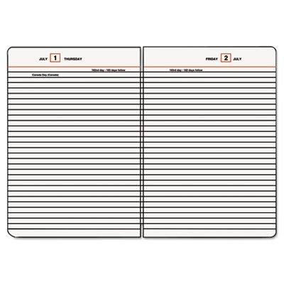 Standard Diary Recycled Loose-Leaf Daily Reminder, 5-3/4 x 8-1/4, 2015, Sold as 1 Each