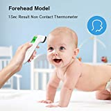 Touchless Thermometer – Forehead Thermometer for