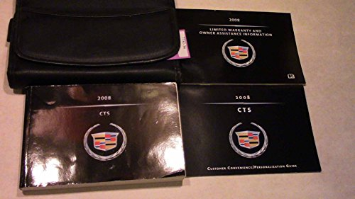 2008 Cadillac CTS Owner Manual (no supplemental material)