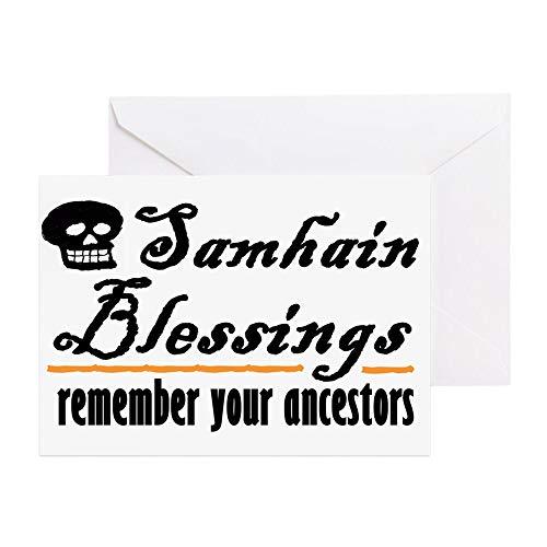 (CafePress Samhain One Greeting Card, Note Card, Birthday Card, Blank Inside)