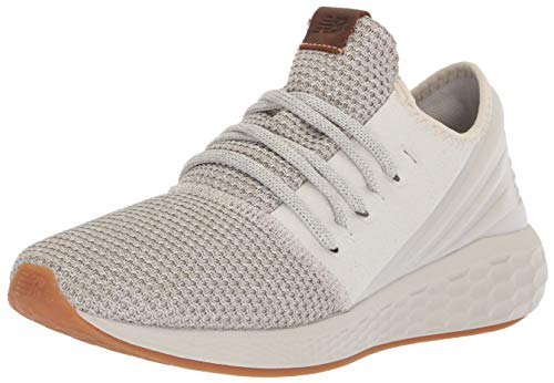 - New Balance Men's Cruz V2 Fresh Foam Running Shoe, moonbeam/stone grey, 12 2E US