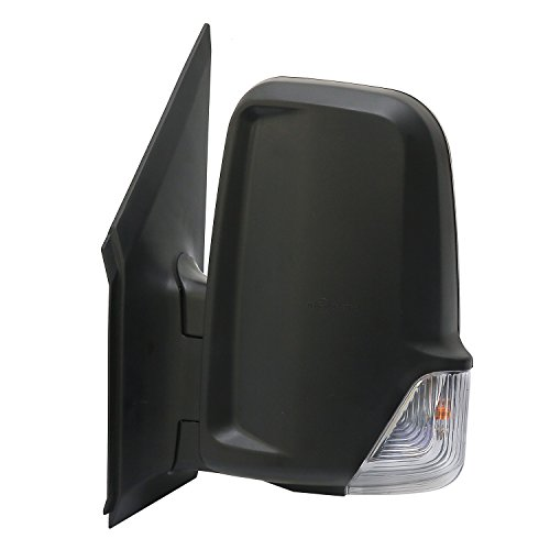 LONGLING Driver Left Side Mirror with Signal Light Fit Dodge Freightliner Mercedes Sprinter - 2008 Van Dodge Sprinter