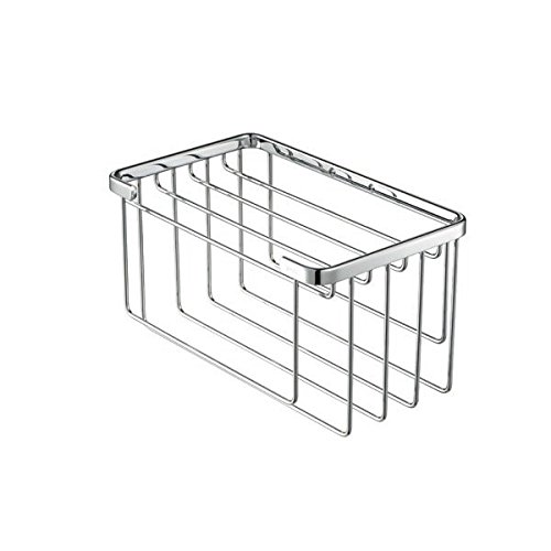 Chrome Towel Basket for Small Towels 174 Geesa Basket