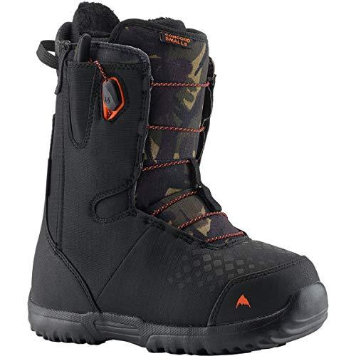 Burton - Youth Concord Smalls Snowboard Boots 2019, Black/Camo, 4K