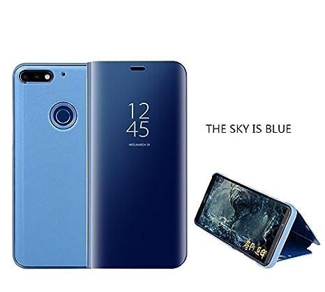 telefono cellulare in offerta honor 9  Cover Huawei Honor 9 Lite,Custodia Case Smart Mirror Custodia in ...