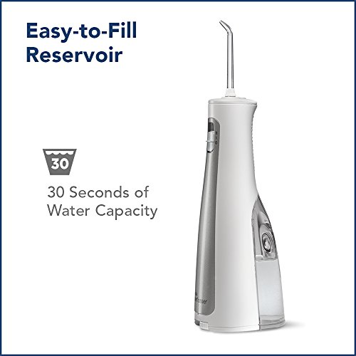 best waterpik cordless freedom water flosser wf 03 white reviews from kempimages. Black Bedroom Furniture Sets. Home Design Ideas