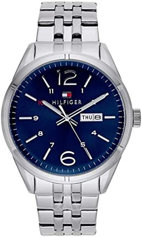 Tommy hifiger–1791061–Charlie–Reloj Hombre–Cuarzo Analógico–Esfera Azul–Pulsera