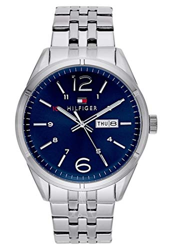 Tommy hifiger – 1791061 – Charlie – Reloj Hombre – Cuarzo Analógico – Esfera Azul –