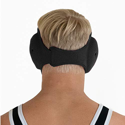 Matman Ultrasoft Wrestling Headgear Quick Adjusting, One Size Fits All, Ear and Head Guard Adult