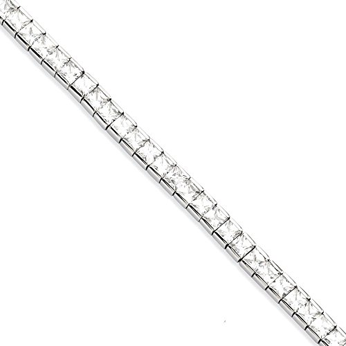 ICE CARATS Stainless Steel Cubic Zirconia Cz 7.5 Inch Bracelet by ICE CARATS