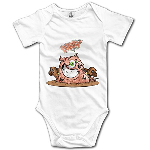 Baby Girl/boy Clothes Bodysuits Jumpsuit LiamP Cool Dirty Happy Porky Pig