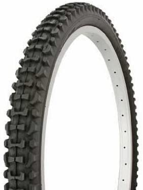 ORIGINAL BICYCLE DURO TIRE IN 24 X 2.10 BLACK//BLACK SIDE WALL HF-107. NEW