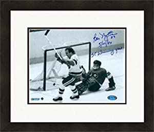 Autograph 223899 New York Islanders Cf Inscribed 5 24 80 Sc Winning Goal Matted & Framed Bobby Nystrom Autographed 8 x 10 in. Photo