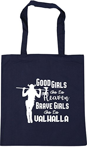 Heaven French Shopping Bag To Beach HippoWarehouse Gym Valhalla To Girls x38cm Navy Go Girls Brave Go 10 Good 42cm Tote litres fqFBHI