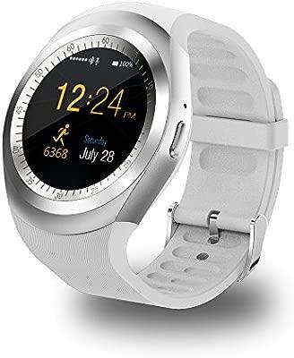 INDI D08 Reloj Inteligente Smartwatch Bluetooth 4.0 con la Batería de larga duración y la Camara de,Análisis de Sueño,Podómetro,Fitness tracker para ...