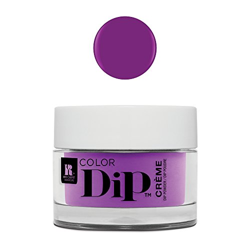 - Red Carpet Manicure Color Nail Dip Powder, Forever Fearless Purple Creme 0.3 oz